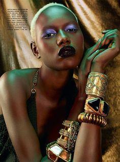 THE BLACKALLURE (Vogue Italia)
