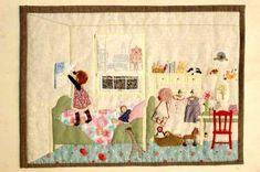 Kış - Rüzgar sha Net Yu patchwork yorgan Esnaflar Kiti Dükkanı
