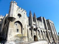Palácio dos Papas (Palais des Papes), Avignon, França, Foto de Véva Nogueira