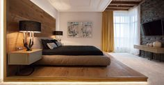 Cabeceros de madera - ideas modernas para dormitorios de lujo