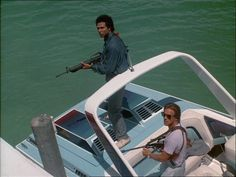 Freeze! Miami Vice!    'Out Where The Buses Don't Run' - Season 2,...