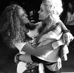 Madison Pettis and Alli Simpson. This is such a cute photo of them! <3