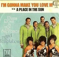 Fiana ross &the supremes and the temptations