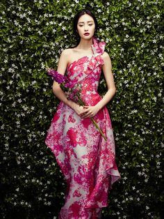 Kwak Ji Young stars in 'The Petals', a shoot photographed by Zhang Jingna