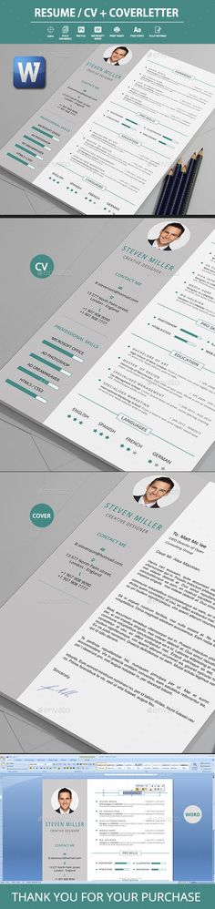 Simple Resume Templates Simple resume template, Simple resume - resume template psd