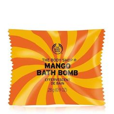 Shop mango bath bomb fizzies from The Body Shop. This unique and relaxing bath-time treat leaves your skin instantly gratified. The Body Shop, Body Shop At Home, Fizzing Bath Bombs, Mango, Lush Cosmetics, Beauty Salon Interior, Good Day Song, Body Cleanser, Relaxing Bath