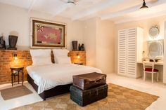 Emily Moon river lodge rooms are unlike any other Plettenberg Bay hotel room. Each room is themed as a character room and an integral part of the Emily moon River Lodge, Moon River, Beach Shack, Lodges, Room, Furniture, Bedtime, Home Decor, Flags