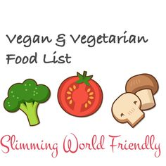 Vegetarian and Vegan — Slimming World Survival   Recipes   Tips   Syns   Extra Easy