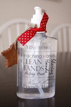 hand sanitizer - cute!