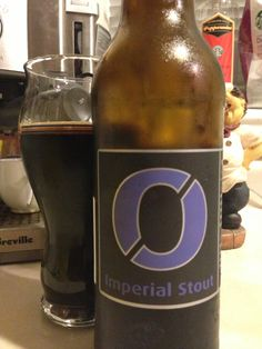 Imperial Stout by Nogne O is sweet and creamy with hints of coffee, chocolate and a fruity finish at 9.0%