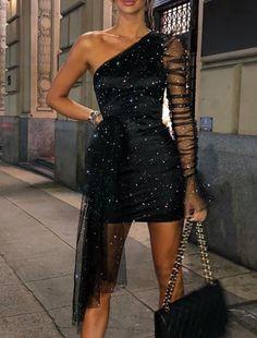 Women's Fashion Vestidos Bodycon Online Shopping – IVRose Trend Fashion, Look Fashion, Fashion Outfits, Fashion Black, Party Fashion, Sexy Dresses, Prom Dresses, Nice Party Dresses, Clubbing Dresses