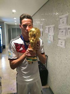 German youngster; Julian Draxler :)