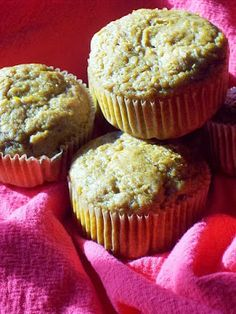 red or green?: Spiced Winter Squash Muffins #fall fest