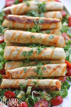Sweet Potato & Lime Taquitos | Beard and Bonnet