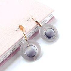 Большие Геометрические Шарики Длинные Серьги Для Женщин Bijoux Новые Ювелирные Изделия Заявление Серьги Подарок