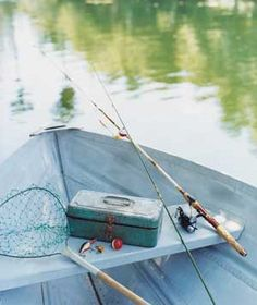 Nothing quite like a day out on the lake fishing, or dreaming, in Maine's Kennebec Valley region.