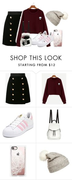 """""""Untitled #6"""" by bebebelabee on Polyvore featuring Dolce&Gabbana, adidas, rag & bone, Casetify and WithChic"""