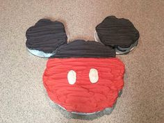 Mickey Mouse Pull Apart Cake