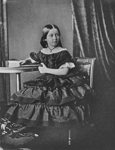 Princess Helena, daughter of Queen Victoria, December 1856. Aged 10.