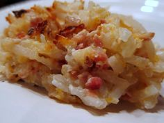 Hash Brown casserole (why does everything have to include bacon?)