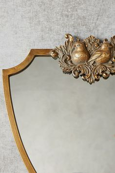 Wooded Manor Mirror   Anthropologie Royal Room, Hanging Furniture, Small Condo, Floor Mirror, Mirror Mirror, Antiqued Mirror, Glass Fit, Boutique Interior, Mood Light