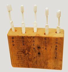 15 DIY Toothbrush Holders Ideas