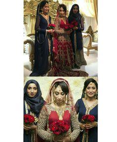 A regal bridal party oozing elegance and class Pic from: @shuzna_tarafdar #muslim #desibridesmaids101 #bridesmaids #bride #asian #asianessence #modestclothing #modestfashion #wedding #bridalparty #lahenga #muslimwedding #bengaliwedding #bengali #desi #allthingsbridal #weddinginspiration #asianfashion #desiwedding  #weddinggoals #squadgoals #indianwedding #bouquet #flowerbouquet #hijabi #Bollywood #smiles #bigday #weddingphotography by desibridesmaids101