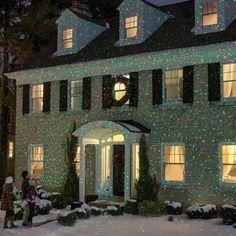 Outdoor Laser Projector Christmas Led Star Shower Garden Lights Halloween  Decor #OutdoorLaserProjector