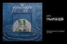 """Per la tua casa.. il mastrocartaio realizza fantastici complementi d'arredo realizzati a mano con la cartapesta! Per la serie """" FantasticoZoo """".. Ippotrippo www.mastrocartaio.com"""