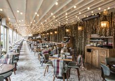 Breakfast at Forest Restaurant & Bar on the Roof - Selfridges