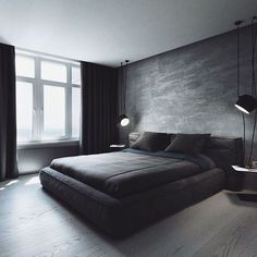Schlafzimmer You are in the right place about new apartment decor Here we offer you the most beautiful pictures about the apartment decor themes you are looking for. When you examine the Schlafzimmer Modern House Design, Modern Interior Design, Bedroom Bed, Master Bedroom, Bedroom Artwork, Bedroom Curtains, Dream Bedroom, Girls Bedroom, Modern Bedroom Decor