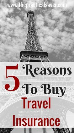 """This """" 5 Reasons To Buy Travel Insurance and Some More """" provides the readers an overview about why travelers should purchase travel insurance. This post also includes the various types of travel insurance that travelers can choose from.  So all your bags are packed and ready to go. You spent hundreds of money and months preparing for your ultimate trip. Suddenly, something unexpected happens and you can't go. You may have a family emergency, you lost your job, your kids get sick, or…"""