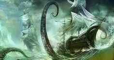 Pirate ship #pirate #kraken