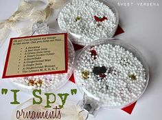 kids homemade christmas ornament