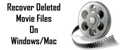 If you have lost your movie files from computer hard drive, external hard drive or from memory card that you wish to restore. Then Movie file recovery will help you in bringing back your deleted movies.