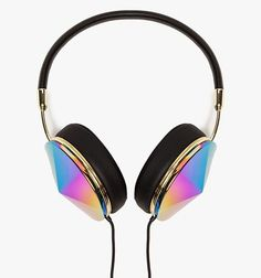 Athletes have BEATS BY DRE and Gtstilettos have gold-plated TAYLOR HEADPHONES. We get it, you stick to your colorful Gummy's and standard Apple earplugs because they're inexpensive and get the job done. But, when you're constantly on the go, full spectrum sound, genuine leather memory foam ear cushions, a three button inline controller with a mic, and rainbow bright ear cups are worth the investment.