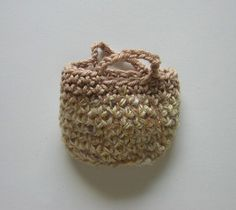 handbag nutka_art handmade doll clothes crochet bag by nutkaart