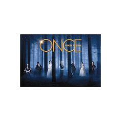 Once Upon a Time Television Poster Poster ($9.99) ❤ liked on Polyvore
