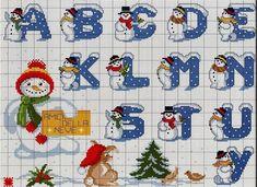 Fazendo artes by Vandinha: monogramas natalinos