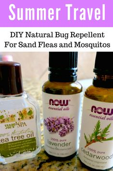 Be ready for those bugs with this natural DIY bug repellent free from toxic chemicals.