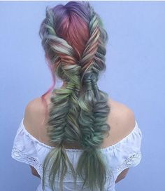 We are really feeling braids today  Love this look from @shmeggsandbaconn #regram #americansalon