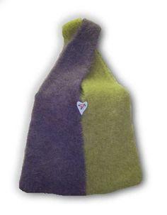 Kati Crossover Hand Knit Felted Bag Pattern PDF by junebugknits, $5.00