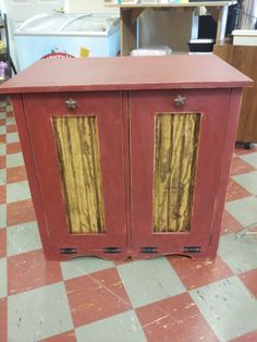 Trash and Recycables tilt out doors cabinet... $135.00  you pick colors!