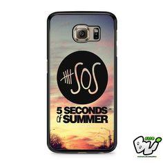 5 Second Of Summer Samsung Galaxy S7 Edge Case
