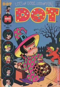 Little Dot #156 Halloween comic book cover