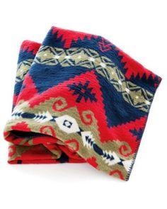 Indian Trade throw by Traditions by Pamela Kline; pamelakline.com.