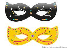 Carnival mask for print. Barbie Paris, Photobooth Props Printable, Carnival Masks, Ideas Para Fiestas, Photo Booth Props, Mask For Kids, Mardi Gras, Masquerade, Scrap