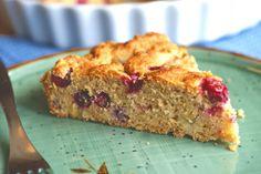 Cranberry Pear Cornmeal Cake from Ricki Heller
