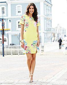 Floral Print Shift Dress | Fashion World