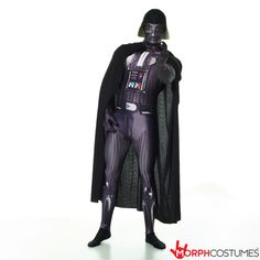 Star Wars fancy dress costumes: Now you can become the legendary evil icon from the Star Wars films thanks to our Darth Vader Morphsuit fancy dress costume.